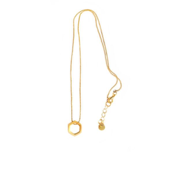 The hexagon necklace