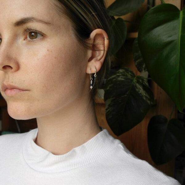 The aerial earrings