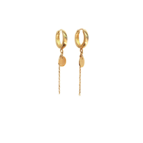 The dangling earrings