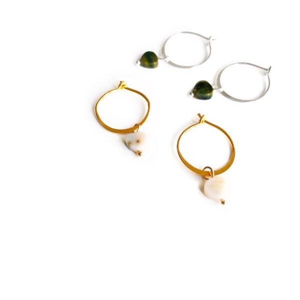 The heartbreaker earrings