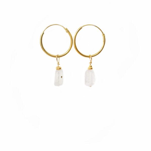 The moondust earrings