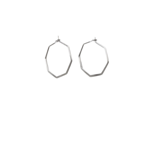 The octagon earrings