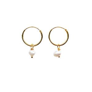 The popcorn earrings