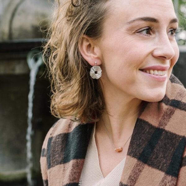 The vane earrings