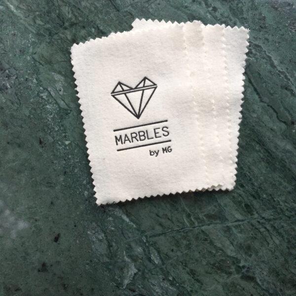 x Marbles by MG poetsdoekje